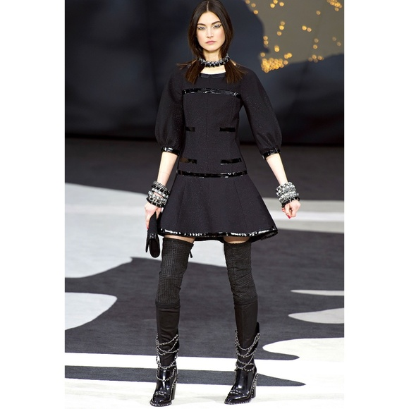 CHANEL Dresses & Skirts - SOLD -CHANEL 13A Runway Look 71 Dress